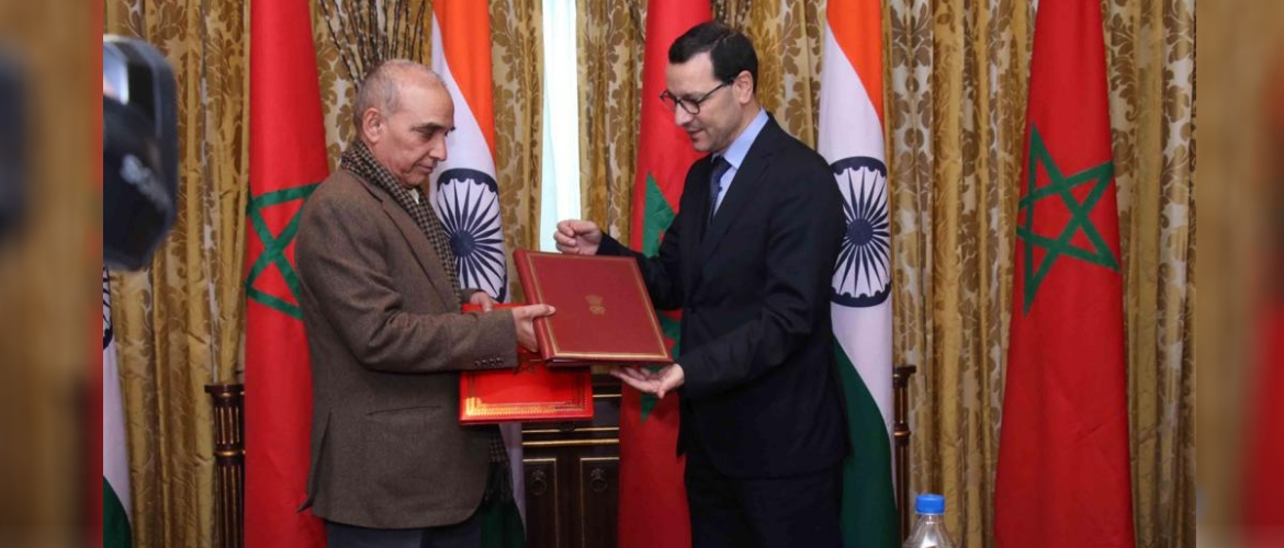 Signing of MoU to facilitate Mutual Recognition of Qualification between India and Morocco