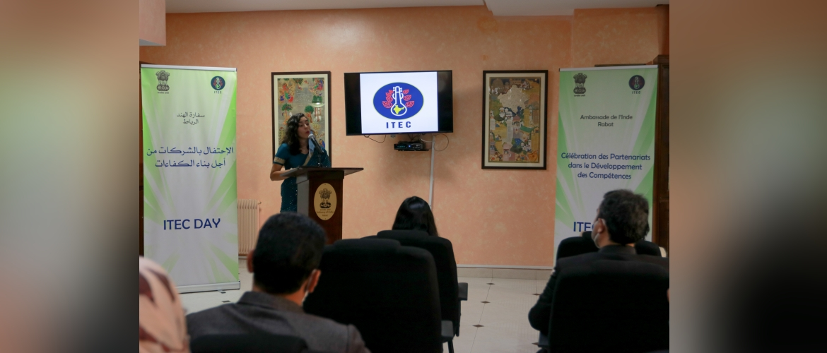 Celebration of ITEC Day in Rabat on 04 December 2020