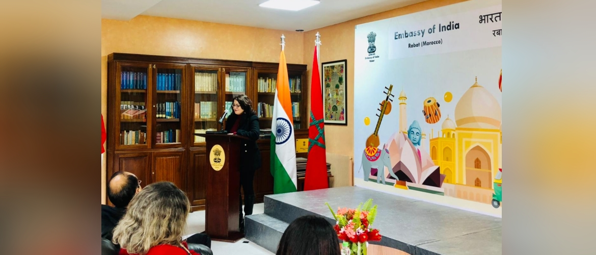 Celebration of International Women's Day on 08 March 2021 at Embassy of India, Rabat